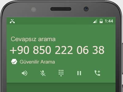 08502220638 nerenin numarasi